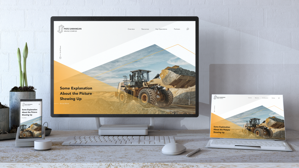 نمونه سایت طراحی ریسپانسیو