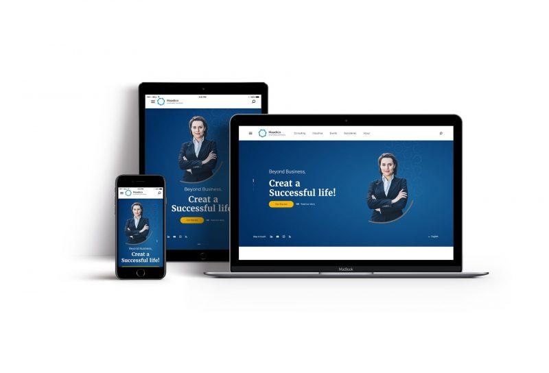 طراحی اختصاصی سایت مادیکو